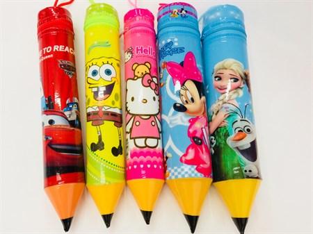 Пенал карандаш, в ассортименте - фото 10166