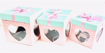 Набор подарочных коробок 3 шт. - фото 11278