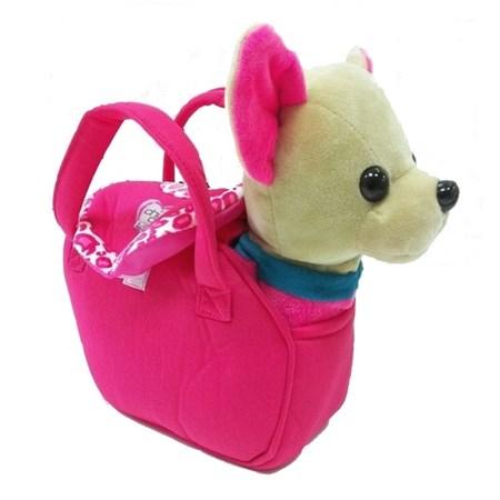 Собака в сумке Чичилав на поводке, ходит + музыка - фото 11488