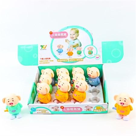 Заводная игрушка Свинка - фото 11670
