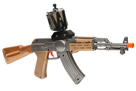 Интерактивный автомат AR GUN GAME AK - 47 дополненной реальности - фото 11994