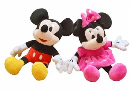 Мягкая игрушка Микки Маус и Минни Маус в ассортименте - фото 12212
