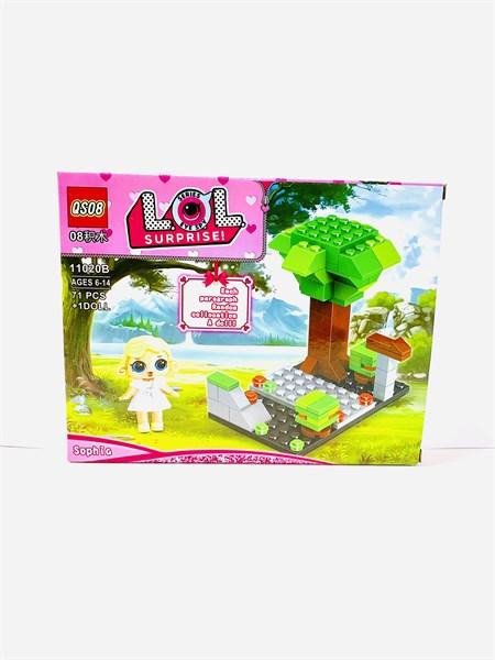 Конструктор Лего для девочек с Куколкой Сюрприз, в ассортименте - фото 12218