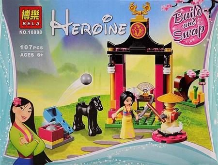 """Лего Конструктор для девочек 107 дет. """"Приключения Принцессы Мулан"""" - фото 12691"""