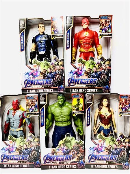 Музыкальные Супергерои Мстители  Avengers, в ассортименте (10 видов) - фото 12913