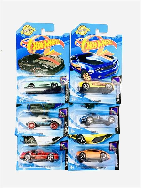Машинка на блистере Хот Вилс Sport Car, в ассортименте - фото 12918