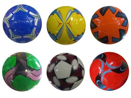 Мяч футбольный, цвет в ассортименте - фото 12997