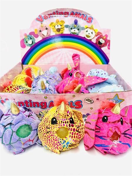 Антистресс игрушка Плюшевая зверушка с орбизом в упаковке 12 шт. - фото 13003
