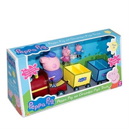 Паровозик Свинка и семья - фото 13081