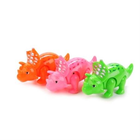 Заводная игрушка Динозавр, в ассортименте в упаковке 12 шт. - фото 13120