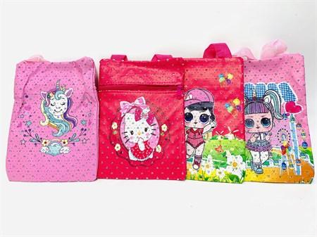 Детская сумка кошелек средняя, в ассортименте - фото 13791