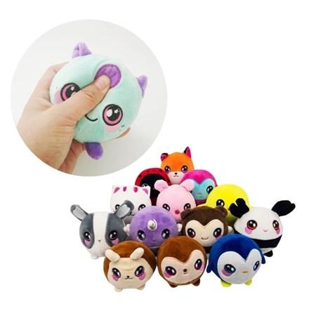 Мягкая игрушка Антистресс зоопарк , в ассортименте - фото 13887
