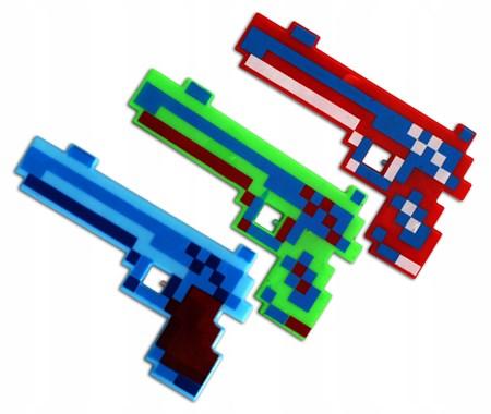 Музыкальный пистолет Майнкрафт - фото 13992