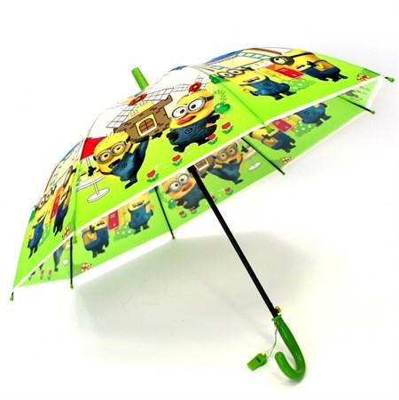 Детский зонт Миньоны для девочек и мальчиков в ассортименте - фото 14042