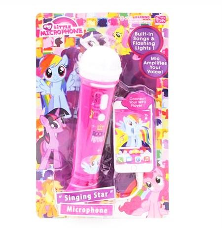 Музыкальный микрофон для девочек в ассортименте - фото 14055