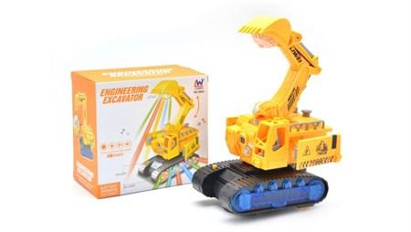 Музыкальная игрушка трансформер экскаватор - фото 14104