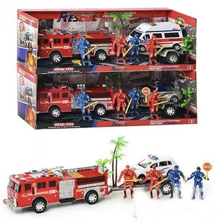 Набор машин спасателей, в ассортименте - фото 14113