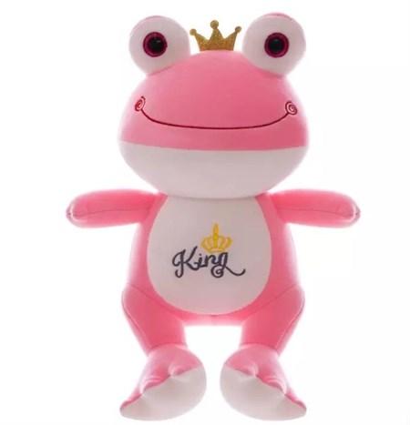 Мягкая игрушка Лягушка, цвет в ассортименте - фото 14160