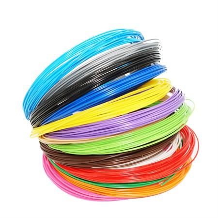Пластик для 3Д ручки, цвет в ассортименте (в упаковке 10 шт) - фото 14175