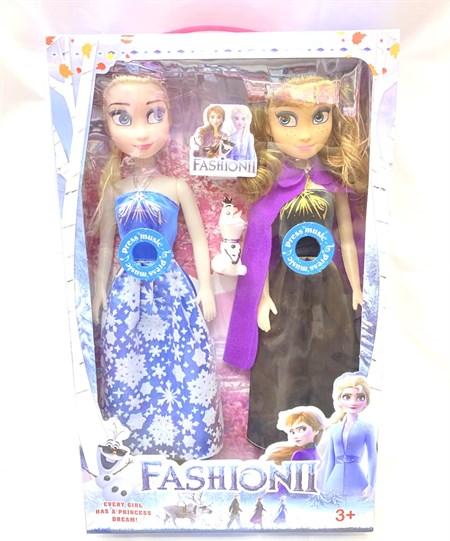 Набор музыкальных кукол Холодное сердце Анна и Эльза - фото 14230