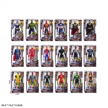 Музыкальные Супергерои Мстители  Avengers, в ассортименте (10 видов) - фото 14249