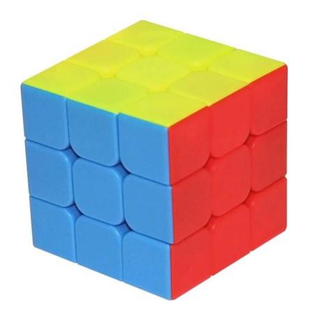 Кубик рубика 3х3 скоростной цветной (в упаковке 6 шт.) - фото 14254
