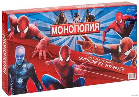 Настольная игра Монополия Человек Паук - фото 14257