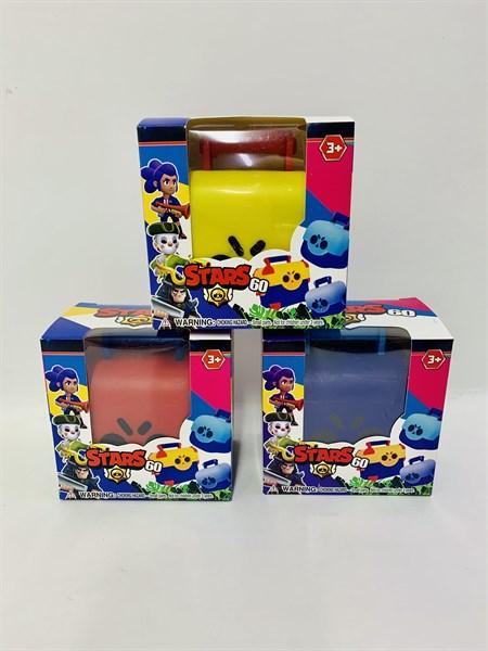 Сундук Бравл Старс (Brawl stars) в коробке, цвет в ассортименте - фото 14265
