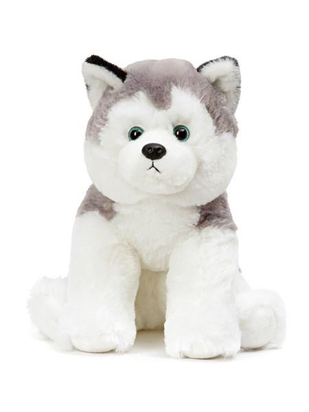 Мягкая игрушка собака Хаски - фото 14277