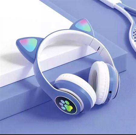 Беспроводные Bluetooth наушники с ушками, цвет в ассортименте - фото 14311