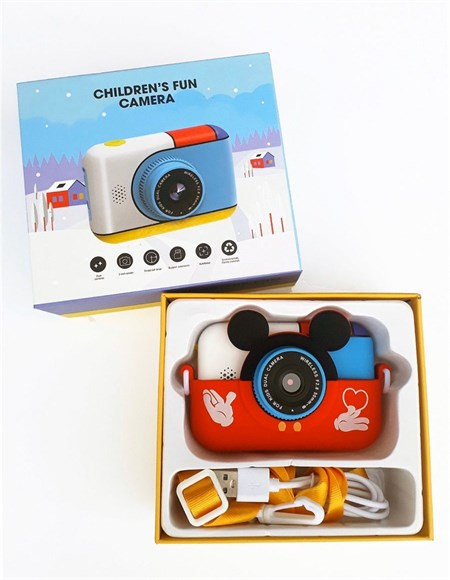 Детский цифровой фотоаппарат - камера МиккиМаус - фото 14327