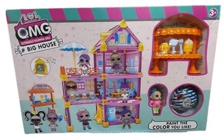 Игровой набор с домом Девочки Сюрприз - фото 14385