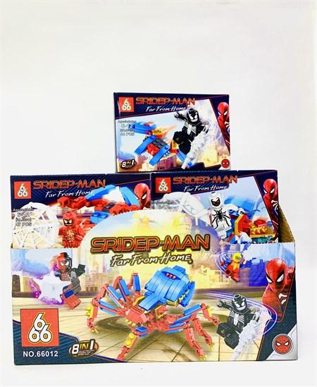 Конструктор Лего Спайдермен Человек Паук  8 в 1( в упаковке 16 шт) - фото 14423