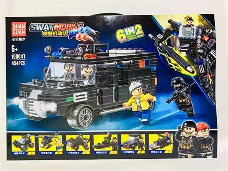 Конструктор Лего Военная машина 454 детали - фото 14435