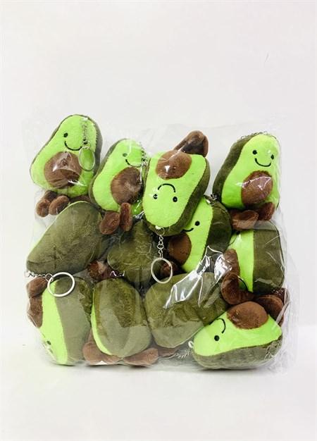 Мягкий брелок Авокадо (в упаковке 12 шт) - фото 14451