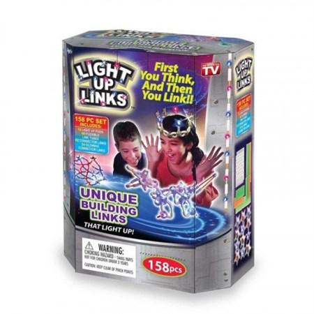 Светящийся конструктор Light up links (Лайт ап линкс) 158 дет. - фото 14486