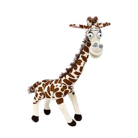 Мягкая игрушка из мультфильма Мадагаскар Жираф - фото 14491