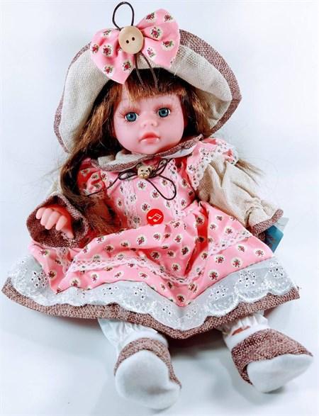 Мягкая игрушка Кукла озвученная 60 см, в ассортименте - фото 14494