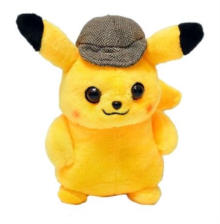 Мягкая игрушка Покемон Пикачу детектив вид 1 - фото 14502