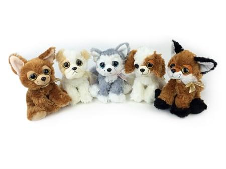 Мягкая игрушка Собака музыкальная, в ассортименте - фото 14533