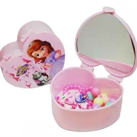 Детская бижутерия в шкатулке Сердце - фото 14537