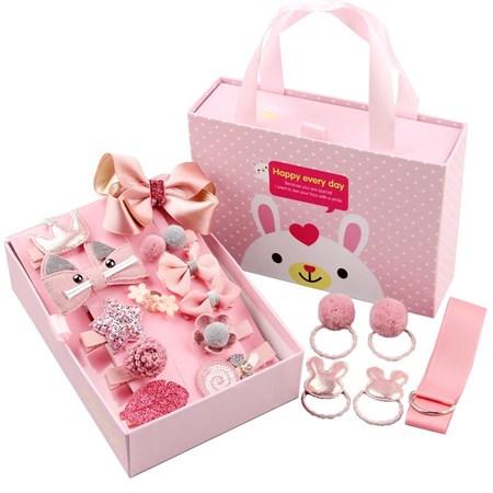Набор детских заколок в подарочной упаковке - фото 14540