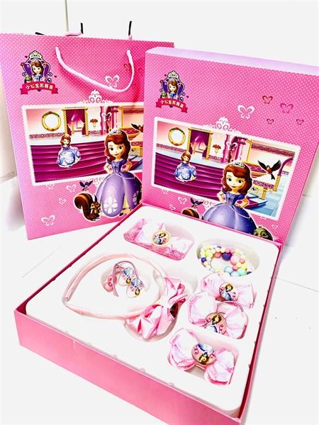 Подарочный набор детской бижутерии Прекрасная София - фото 14545