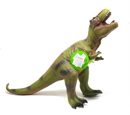 Большой резиновый динозавр с озвучкой , в ассортименте - фото 14572