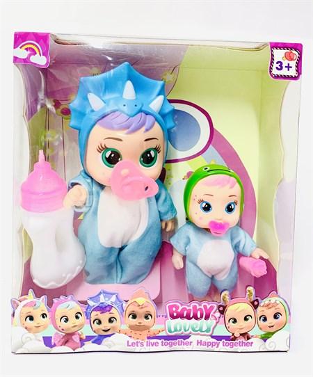 Кукла Cry Babies с ребеночком, в ассортименте - фото 14608