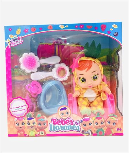 Кукла Бейби край набор с аксессуарами Bebes Liorones - фото 14616