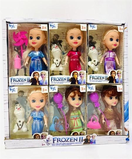 Кукла Frozen ll  Холодное сердце, в ассортименте (в упаковке 12 шт) - фото 14620