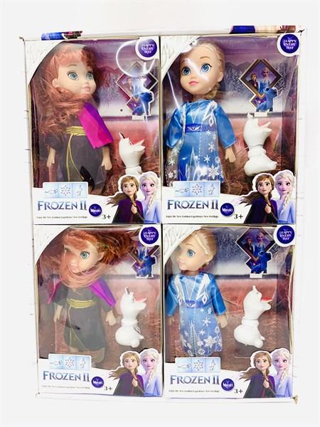 Кукла Frozen II music Холодное сердце, в ассортименте ( в упаковке 4 шт) - фото 14621