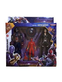 Набор супергероев 3 шт. в ассортименте - фото 14654