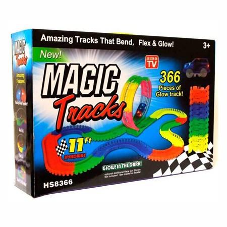 Светящийся гибкий трек Magic tracks  366 деталей - фото 14699